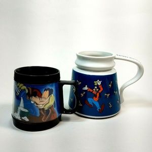 Other - Disney Goofy Coffee Cups Tea Mugs LOT Of 2